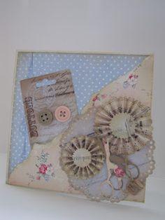 Card 'Elines Huis Pale Pastels'