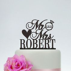 New Products available: Personalized MR & MRS Cake Topper, check it out here! www.salelab.ca