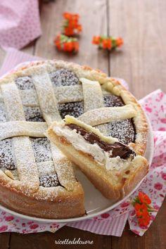 Nutella Recipes, Bread Recipes, Cake Recipes, Crostata Recipe, Cooking Cake, Italian Desserts, English Food, Pie Dessert, Something Sweet