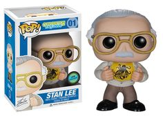 Now that NYCC is underway and the of 5 versions of the Stan Lee POP! is being released, the Stan Lee POP! Vinyl has just been reve. Marvel Comics, Marvel Dc, Funko Pop Marvel, Funko Pop Figures, Pop Vinyl Figures, Stan Lee Funko Pop, Pop Disney, Funko Pop Dolls, Funk Pop