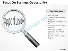Business opportunity powerpoint template powerpoint templates strategy focus on business opportunity powerpoint templates 0527 accmission Choice Image