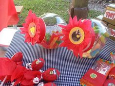 Angry Birds Party decorations