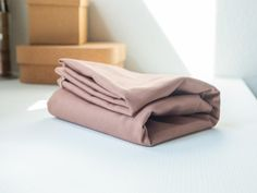 Mind the Maker Washed Cotton Twill, 9oz — Dusty Rose SGS certified
