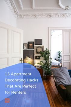 Making your living space feel like your own when you're renting can be a challenge. That's why you need decor ideas that will transform your home into a place where you'd want to spend most of your time! Check our apartment decorating hacks and get started.