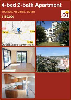 4-bed 2-bath Apartment in Teulada, Alicante, Spain ►€169,000 #PropertyForSaleInSpain