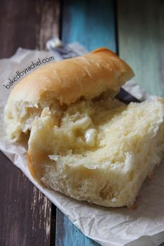 Amish Potato Rolls Recipe from bakedbyrachel. The perfect soft and fluffy dinner rolls that are full of flavor and easy to make!