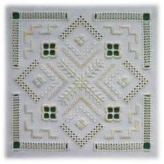 Hardanger embroidery by Mabel Figworthy's Fancies - Odessa