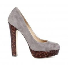 My new favorite shoe style - platform pumps!