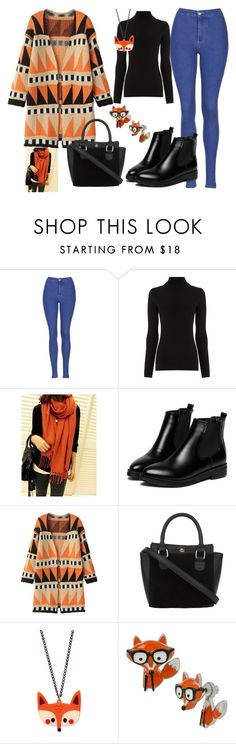 """""""Autumn"""" by liveevil94 on Polyvore featuring moda, Topshop, Warehouse, WithChic i Betsey Johnson"""