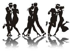 Dance silhouet... Gangster Silhouette ...