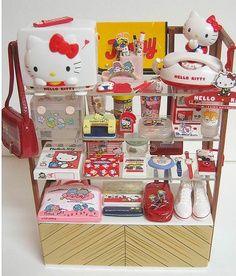 Vintage Sanrio products I love!!!!!