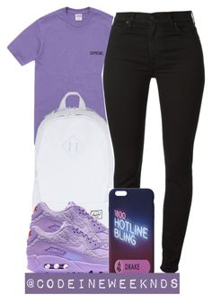 """""""11/15/15"""" by codeineweeknds ❤ liked on Polyvore featuring Herschel Supply Co. and NIKE"""