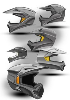 Motocross helmets designed while practicing surfacing techniques in Solidworks. Bike Sketch, Sketch A Day, Sketch Inspiration, Design Inspiration, Bike Design, Pop Design, Design Concepts, Design Design, Graphic Design
