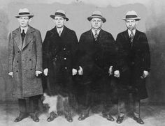 Al Capone was a gangster or mobster in the 1920's. Description from pinterest.com. I searched for this on bing.com/images