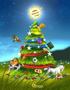 Árbol de Navidad Venezolanisimo   Oscar Olivares