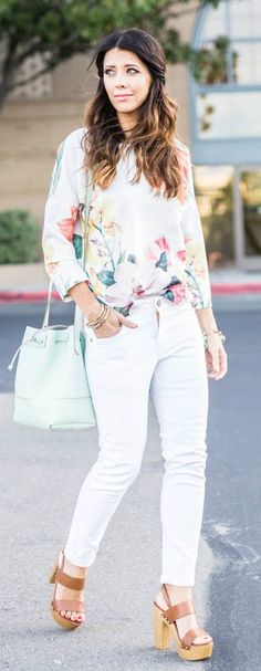 Floral Sweat Styling
