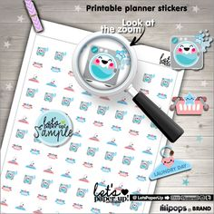 Laundry Stickers, Printable Planner Stickers, Erin Condren, Kawaii Stickers, Basket Stickers, Hanger, Planner Accessories, Clean Up Stickers