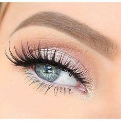 Beautiful eyes and makeup