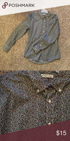 Paisley & Gray Button Down Worn once or twice total. Too big on me, size large. Shirts Dress Shirts
