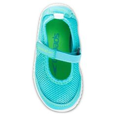 Speedo Toddler Kids Mary Jane Water Shoes - Blue (Extra Large), Toddler Girl's