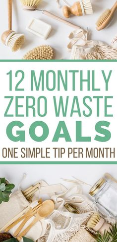 awesome Just imagine how you would feel 12 months from now if you drastically reduced the waste your family made all year! These 12 zero waste goals will help you – even if you are a zero waste beginner. CONTINUE READING Shared by:. No Waste, Reduce Waste, Reduce Reuse, Reuse Recycle, Eco Friendly House, Green Life, Natural Cleaning Products, Sustainable Living, Sustainable Products