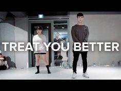 Treat You Better - Shawn Mendes / Eunho Kim Choreography - YouTube