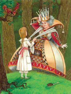 Alice in Wonderland russian artist