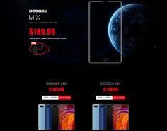 Después de semanas de espera, el teléfono inteligente Doogee Mix por fin llega al mercado. Disponible en preventa desde el 5 de junio a un precio especial.