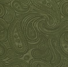 green paisley, #sage