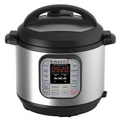Instant Pot IP-DUO60 is a 7-in-1 programmable cooker that speeds up cooking by 2~6 times using up to 70% less energy. Instant Pot IP-DUO60 combines the functions of a pressure cooker, slow cooker, rice cooker/porridge maker, steamer, sauté/browning, yogurt maker and warmer. Using the 14 built-in smart programs (Soup, Meat/Stew, Bean/Chili, Poultry, Sauté, Steam, Rice, Porridge, Multigrain, Slow Cook, Keep-Warm, Yogurt, Pasteurize and Fermented Rice), your...