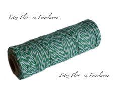 Verpackungsmaterial - Bäcker-Garn Bakers Twine grün - ein Designerstück von Fitzi-Floet bei DaWanda