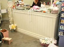 Beautiful Cash counter for the store...