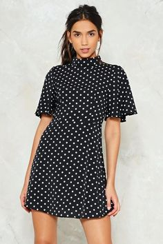 Spot the Difference Skater Dress