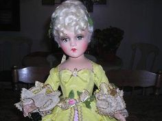 "Madame du Barry - early, rare 21"" composition doll"