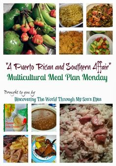 A Puerto Rican and Southern Affair: Discovering the World Through My Son's Eyes {Multicultural Meal Plan Mondays} | Multicultural Kid Blogs