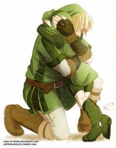 I Will Always Be...Your Friend | Link and Saria by Sage-of-Winds