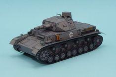 Download No. IV Tank D-type tank papercraft model