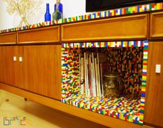 Around 7500 LEGO bricks used, Dimensions: 85 cm (33,5 in) x 43 cm (17 in) x 202 cm (79,5 in) by www.creativebrick.ro