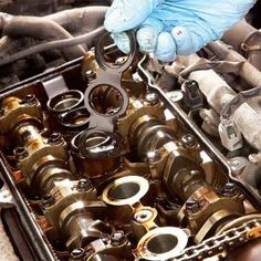 Replace a leaky gasket cover on a 4-cylinder engine easily and in less than an hour for less than 25 dollars. We show you how to do it, step-by-step.