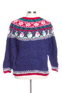Multicolor Ugly Christmas Pullover 29518