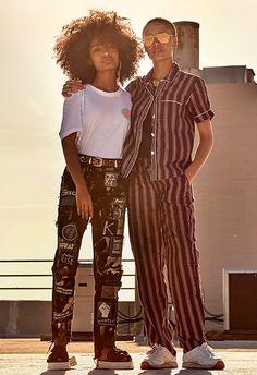 Yara Shahidi (right) and Adwoa Aboah (left) shot exclusively for ASOS Magazine | ASOS Fashion & Beauty Feed