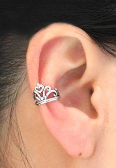 Princess ear cuff...I WANT!
