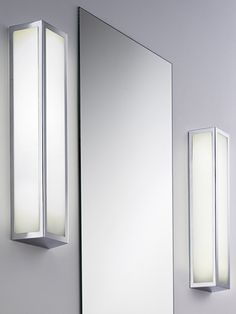 Bathroom Lighting Side Of Mirror smart bathroom wall light..great for either side a mirror