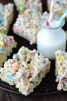 Lucky Charm Marshmallow Treats