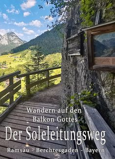 Der Soleleitungsweg, Ramsau - Berchtesgaden - die_bergfreaks Urlaub mit Hund Places To Travel, Places To Go, Heaven On Earth, Germany Travel, Travel Around, Outdoor Activities, The Good Place, Beautiful Places, Road Trip