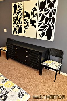 Decorative Wall Art diy art, love this for living room wall too This is cut out with jigsaw, but could use projector to transfer image then paint it. Diy Wall Art, Diy Art, Wall Art Decor, Interior Decorating, Interior Design, Decorating Tips, Stencil Diy, Stencils, My Living Room