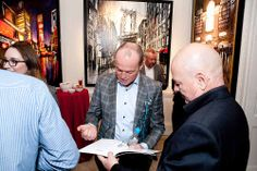 Paul Kenton signs exhibition catalogue for a fan #art #London