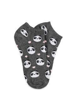 Panda Ankle Socks i has these *feeling sockalicious