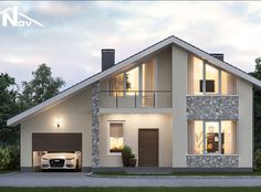 51 Ideas For Exterior House Bungalow Home Plans Modern Bungalow Exterior, Modern Bungalow House, Bungalow Homes, Bungalow House Plans, Dream House Exterior, Modern House Plans, House Front Design, Modern House Design, Casas Containers