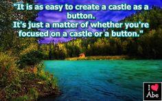 Es tan fácil crear un castillo como un botón.  Es sólo una cuestión de si estás enfocado en un castillo o en un botón.